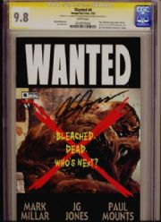 Wanted #6 CGC Comics Signature Series SS 9.8 Signed J.G. Jones Top Cow comic book